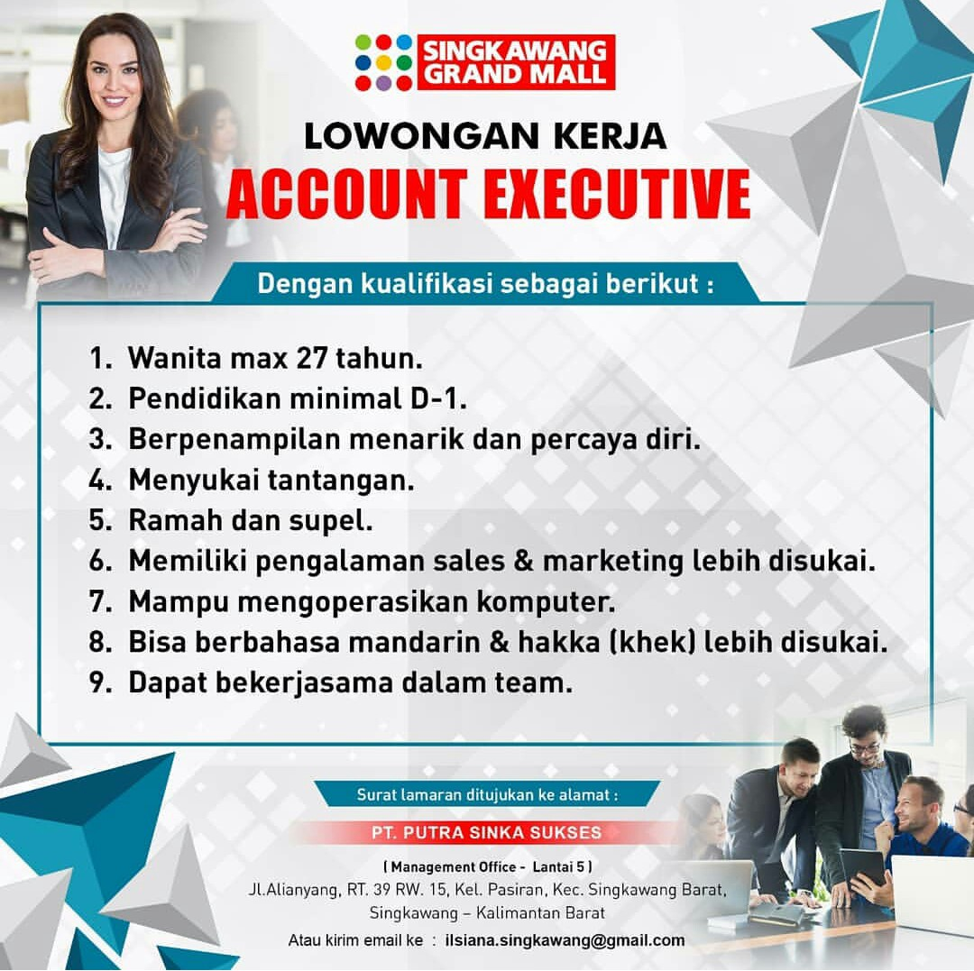 Lowongan Kerja Account Executive