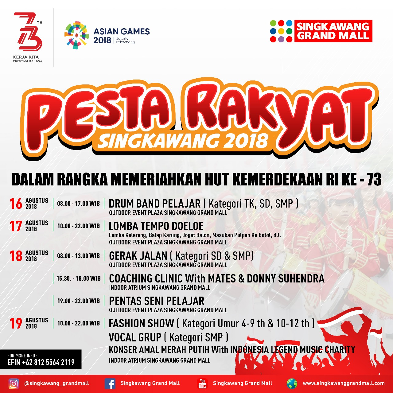 Pesta Rakyat Singkawang Grand Mall