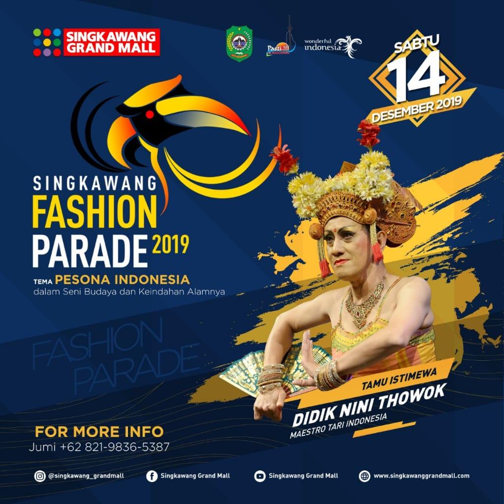 Singkawang Fashion Parade 2019