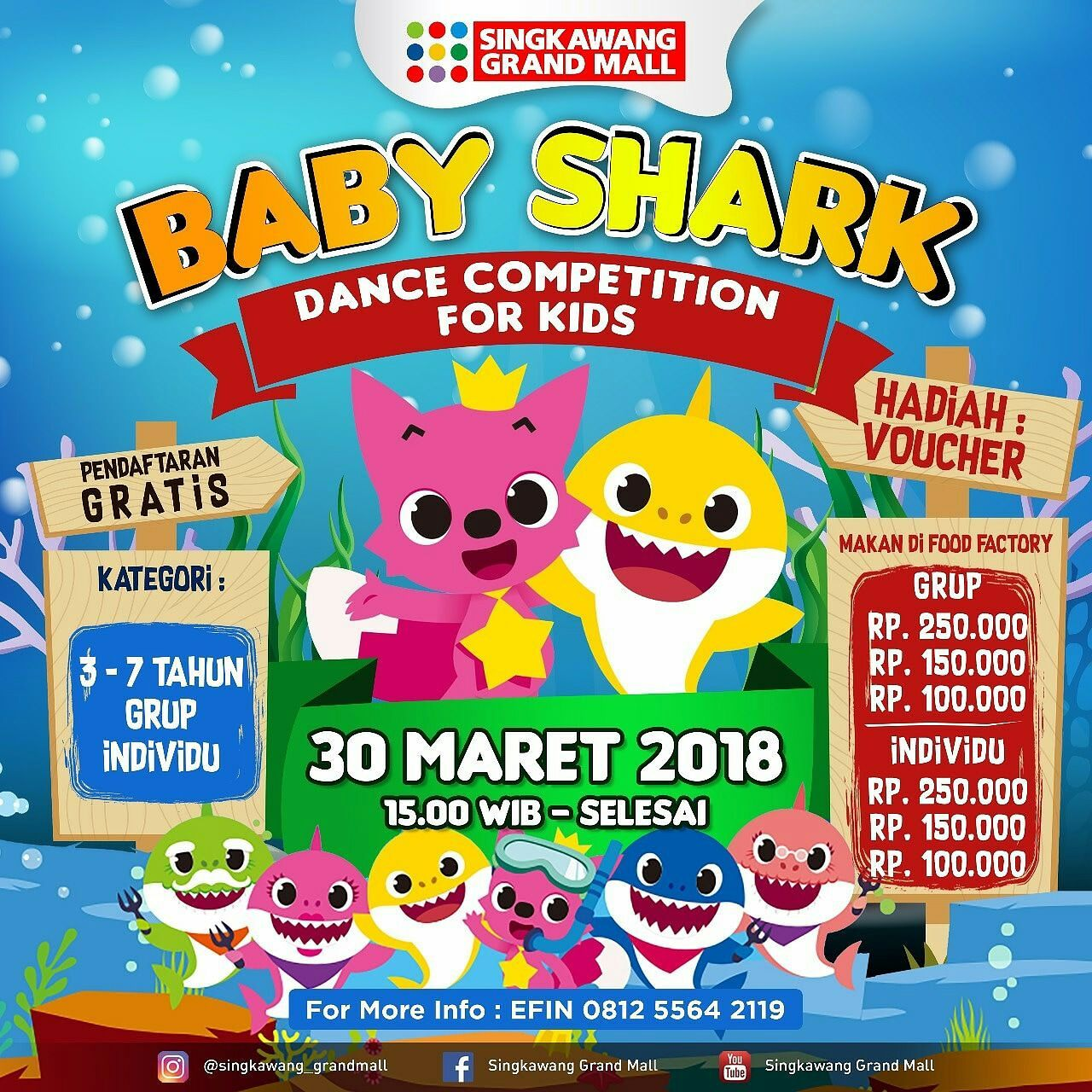 Baby Shark Dance Competition