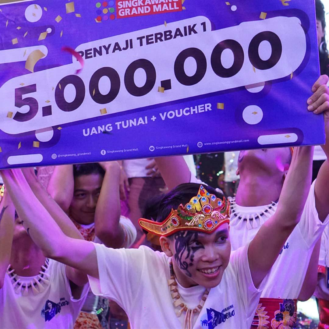 Singkawang Grand Mall Sukses Menggelar Event Singkawang Menari 2019