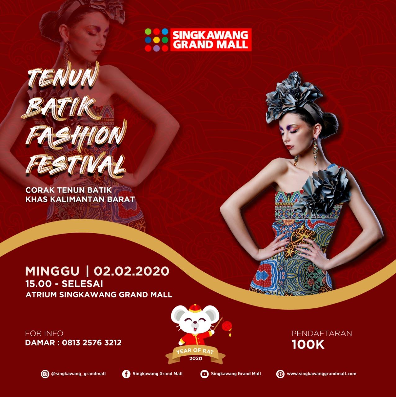 Tenun Batik Fashion Festival