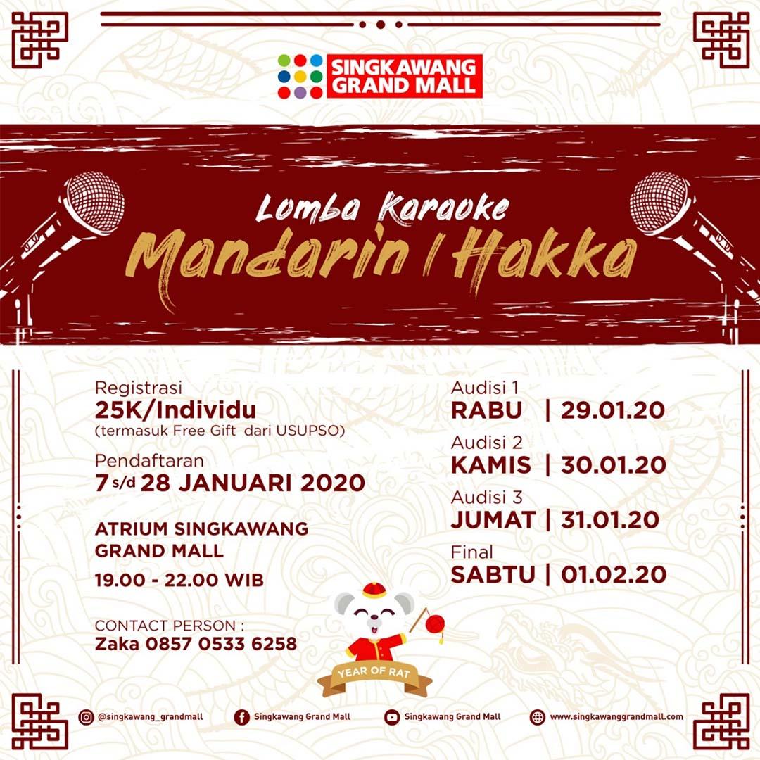 Lomba Karaoke Mandarin